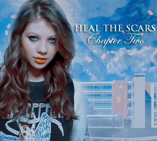 Heal the Scars: Chapter 2: Dawn standing in front of a hospital (manip by ahewlett)